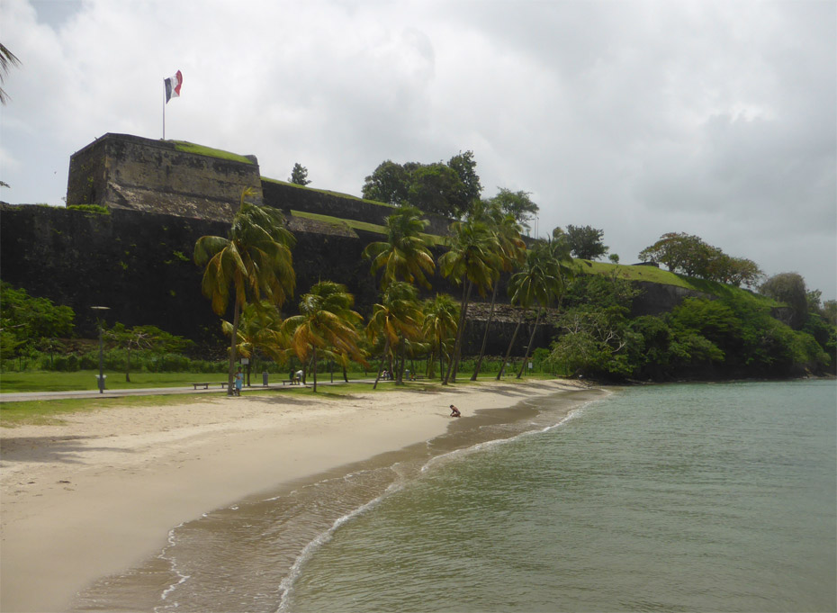 Photo Fort Saint Louis © Guidemartinique.com
